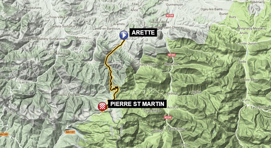 Pierre St Martin por Arette